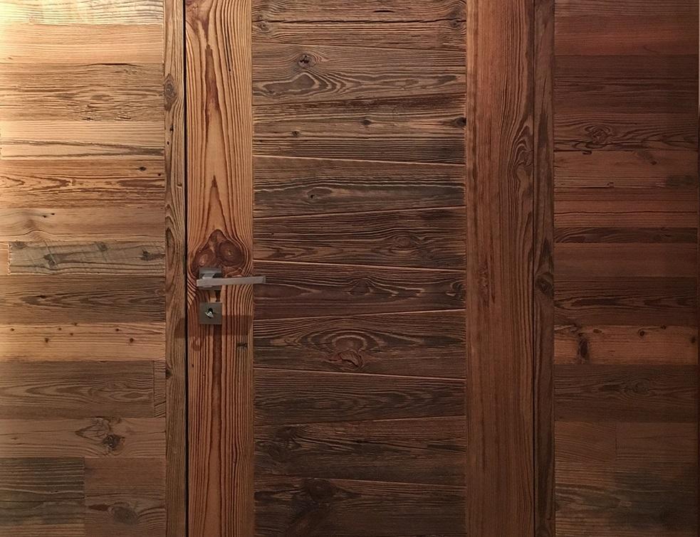 les portes d int rieur en vieux bois by b7. Black Bedroom Furniture Sets. Home Design Ideas