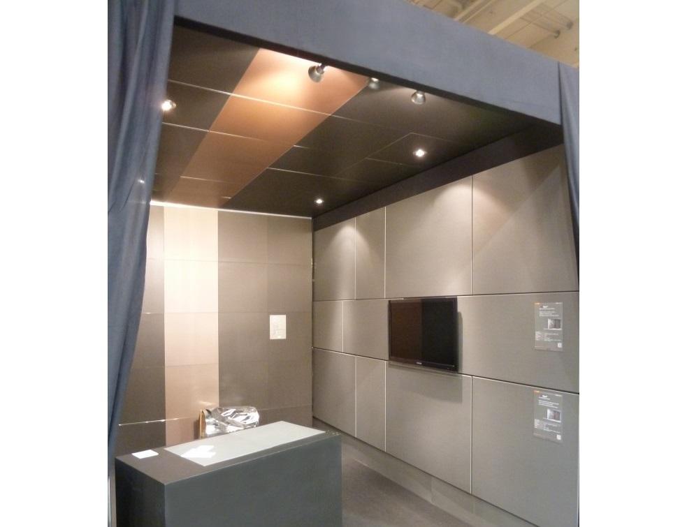Clip Concept : Les dalles ZINC pour la rénovation de plafond et murs