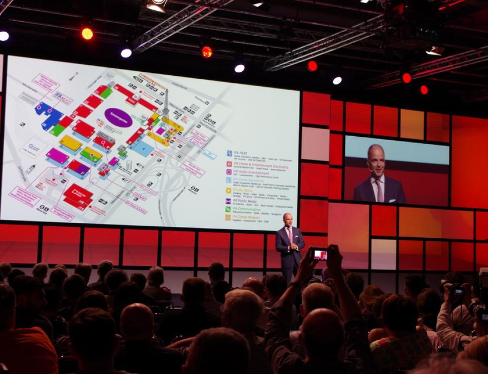 Panasonic fête ses 100 ans au salon IFA à Berlin