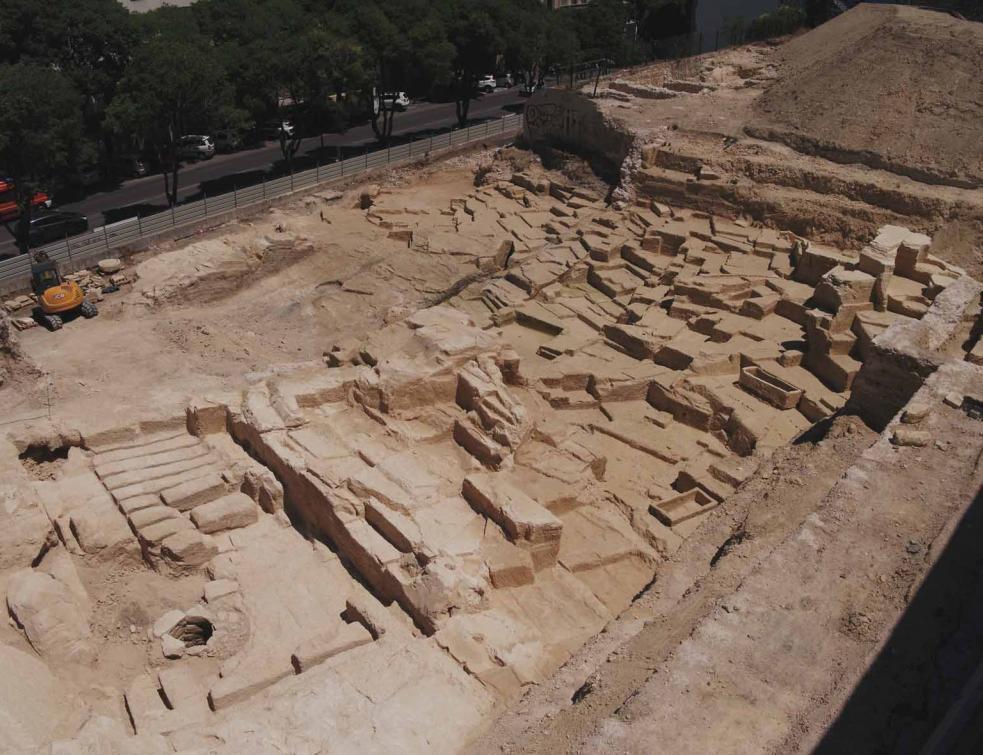 La partie sauvegardée de la carrière antique de la Corderie à Marseille classée