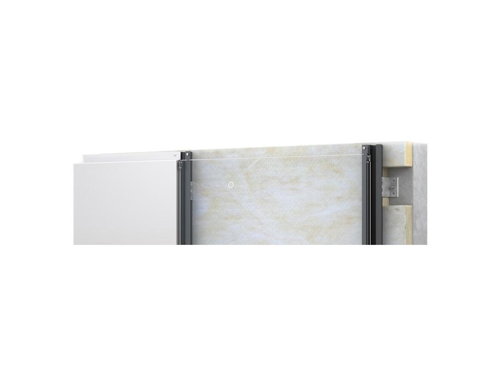 HORIZON par Acodi : fixation invisible par emboîtement pour panneaux de façade