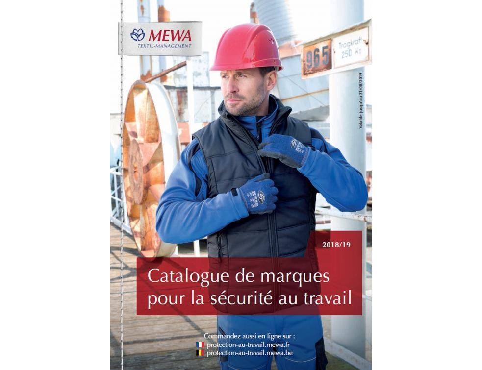 Le nouveau catalogue de marques pour la sécurité au travail de MEWA est arrivé
