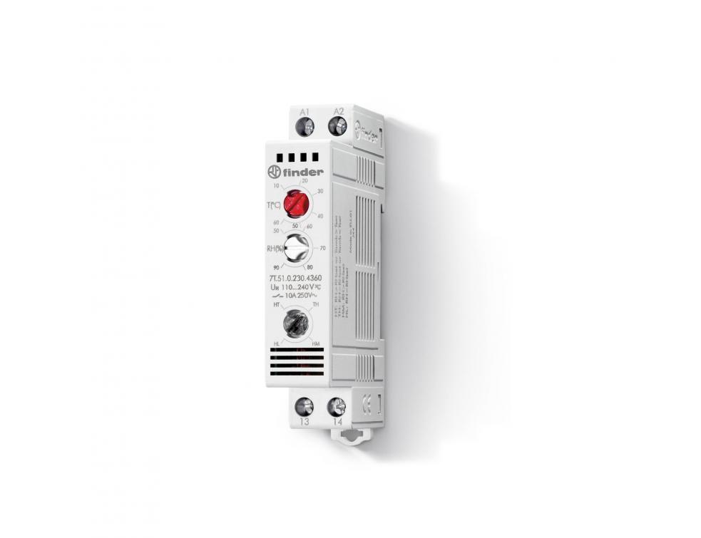 Série 7T51 : Nouveau hygro-thermostat d'armoire