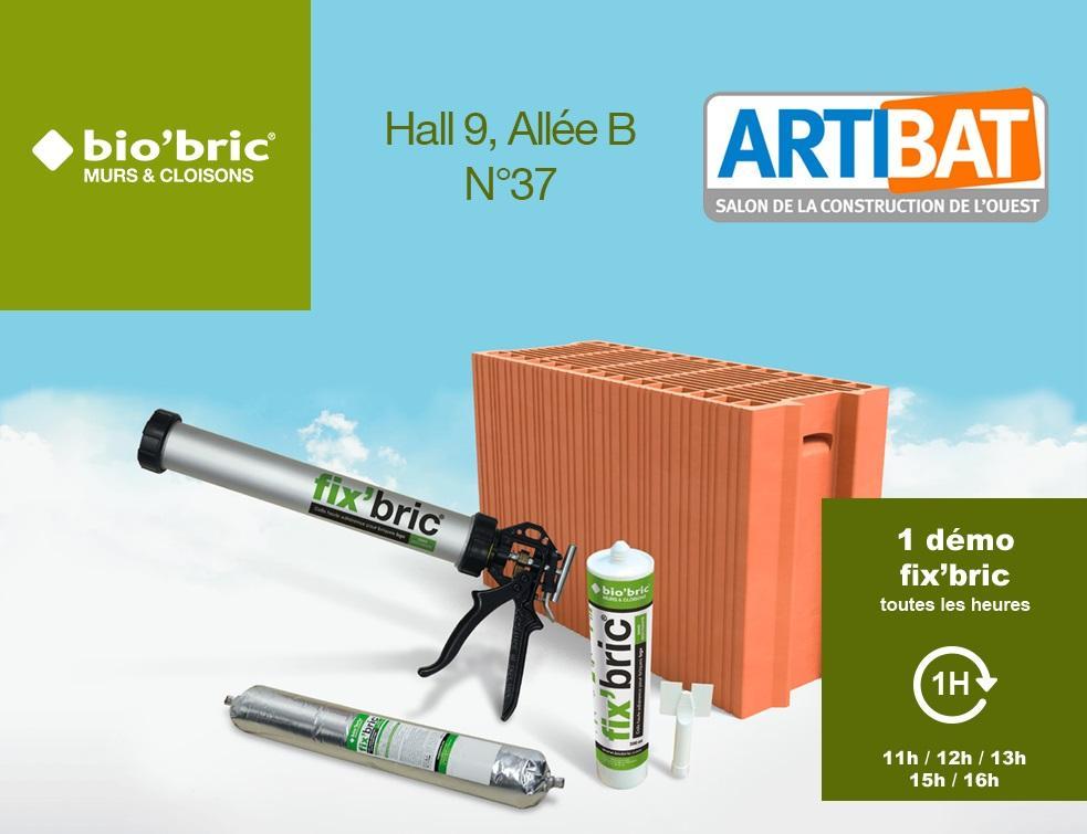 bio'bric à ARTIBAT - Captez les innovations et faites le plein d'idées nouvelles