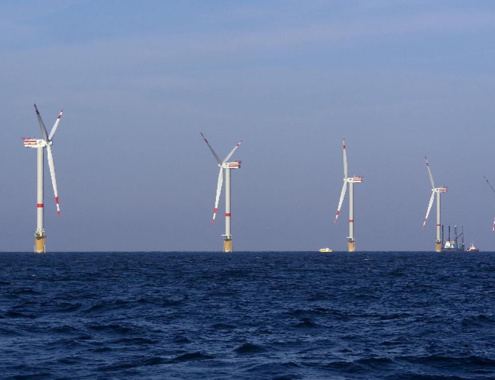 Projet éolien en mer du Tréport :