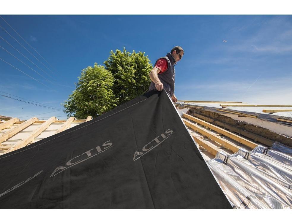 ACTIS lance TRISO-TOITURE, une nouvelle solution d'isolation mince