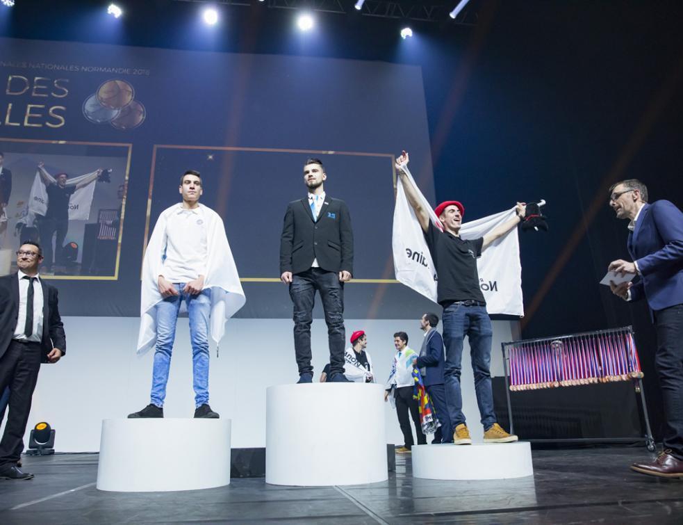97 champions mis à l'honneur aux Olympiades des métiers