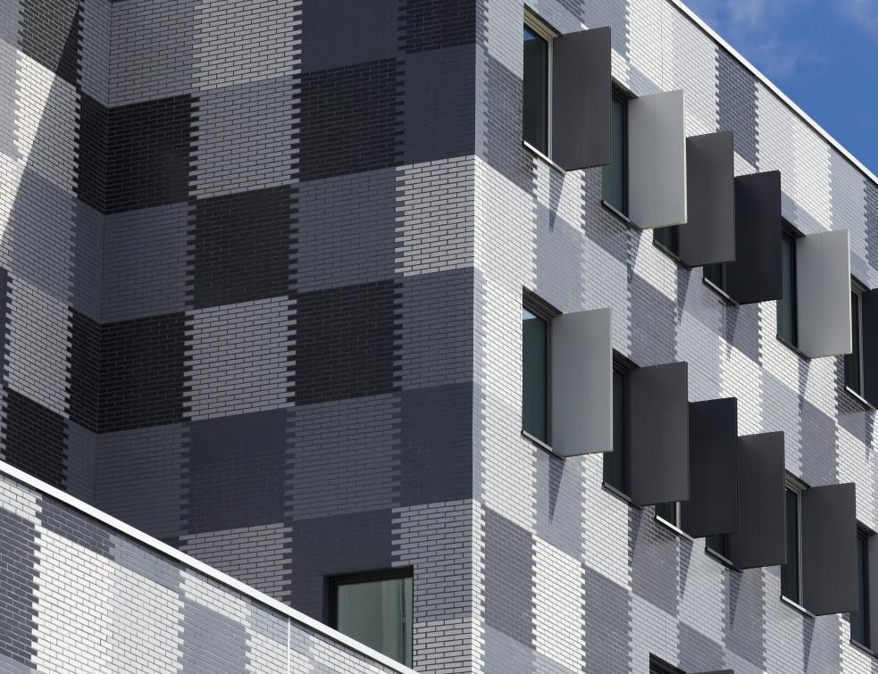 Moins de parements posés en façade en 2018