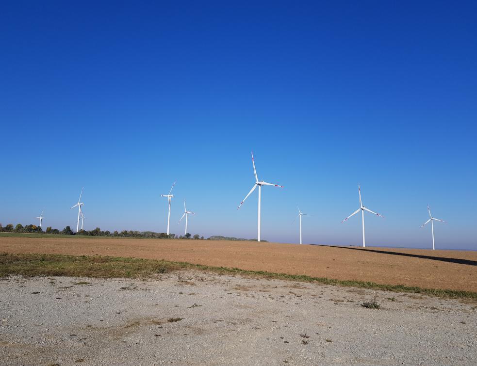 EDF remet à neuf un parc éolien en Allemagne