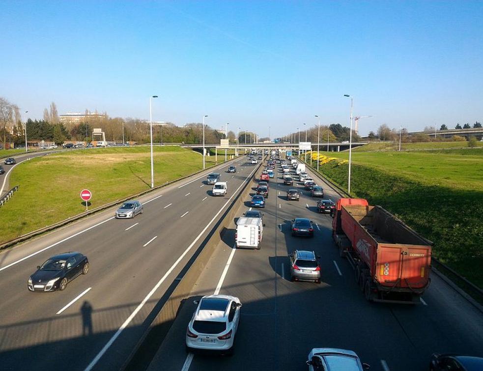 La vitesse sera limitée à 70 km/h sur le périphérique de Lille en février