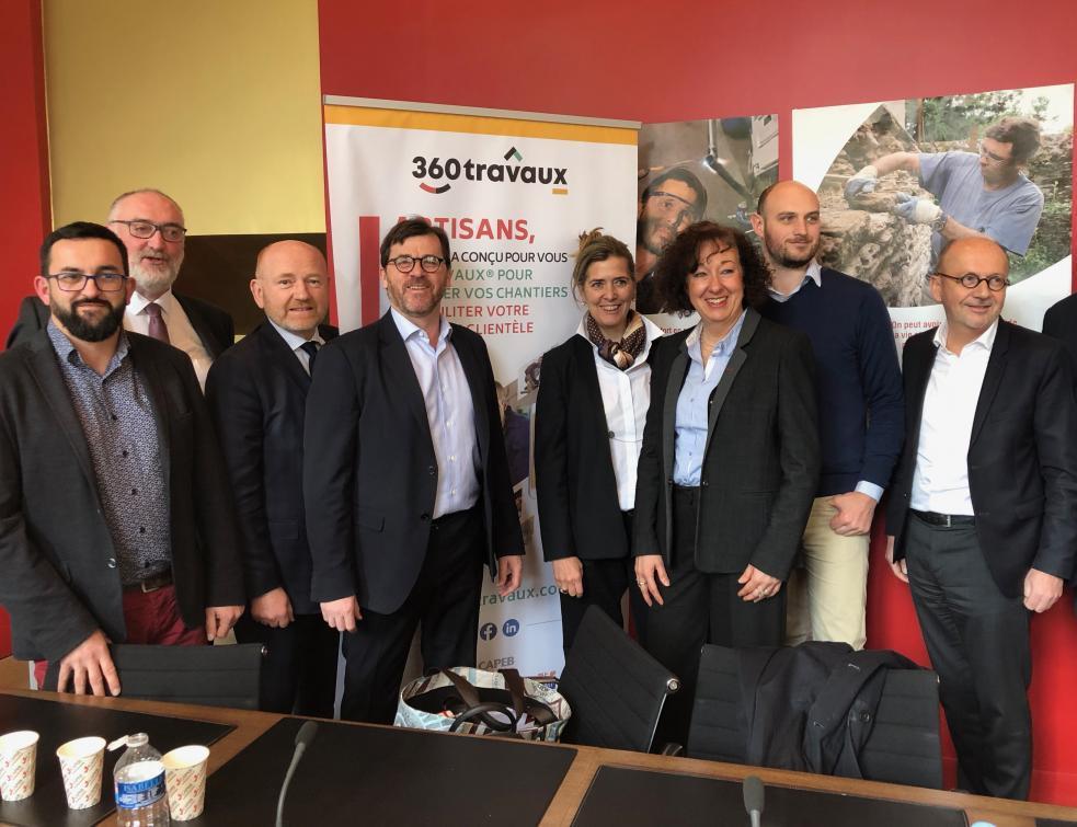 La Capeb lance la plateforme 360travaux avec 5 partenaires