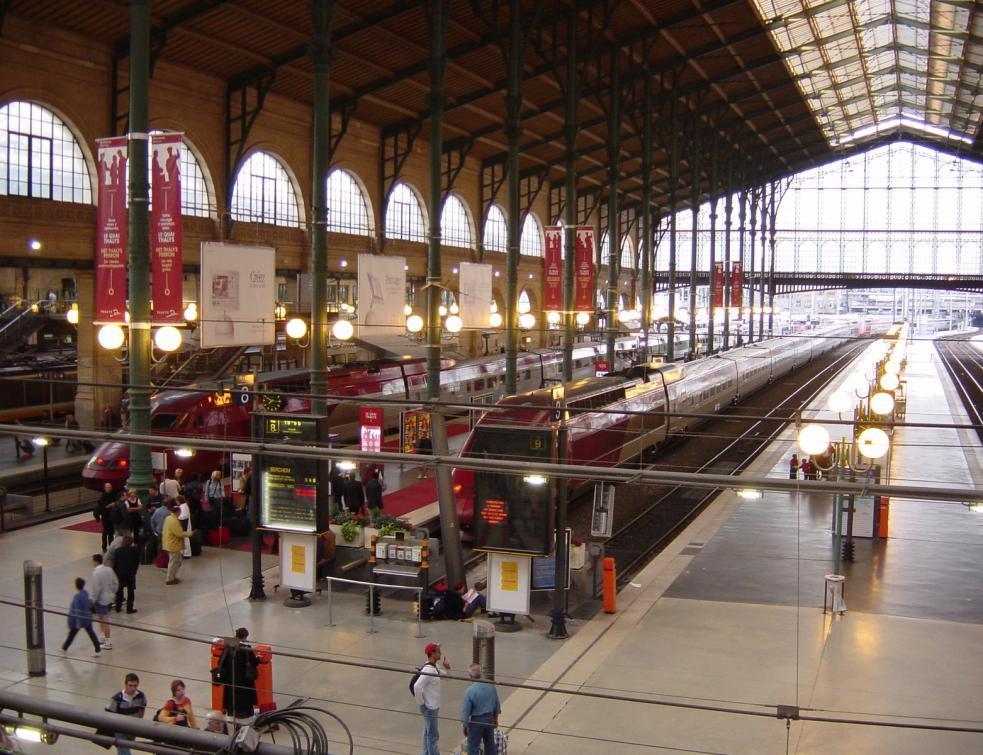 Concertation pour la transformation de la Gare du Nord à Paris