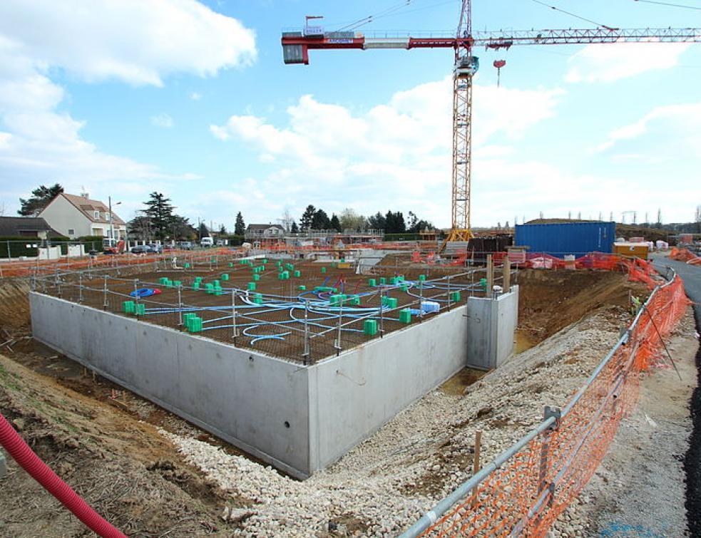La construction de logements neufs replonge en février