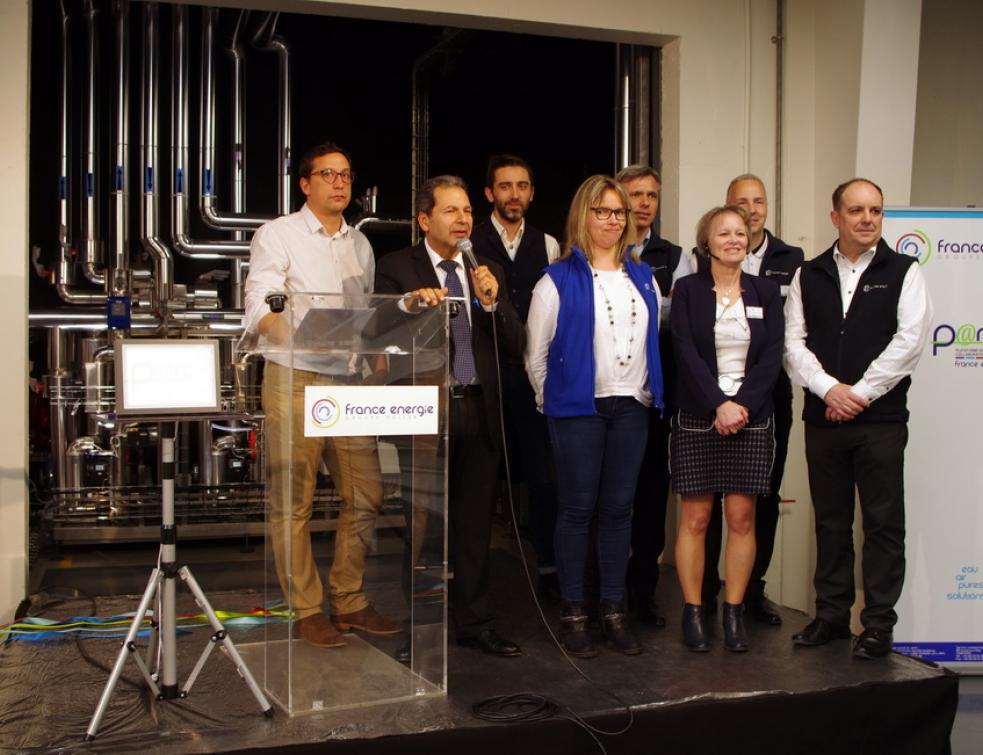 France Energie boucle la boucle d'eau avec ses nouvelles pompes à chaleur