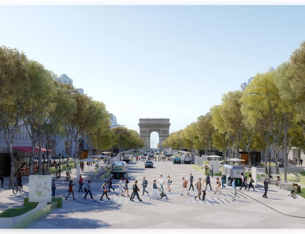 Bientôt un nouveau visage pour l'avenue des Champs-Elysées ?