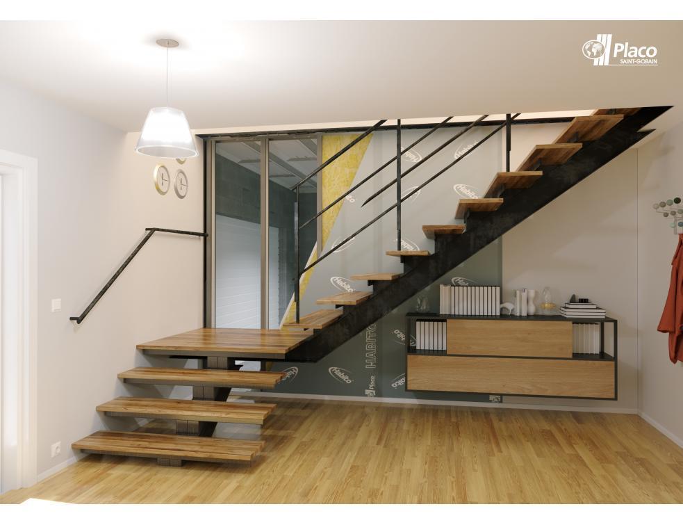 Placo® optimise le système UP STIL® pour les garages des maisons individuelles