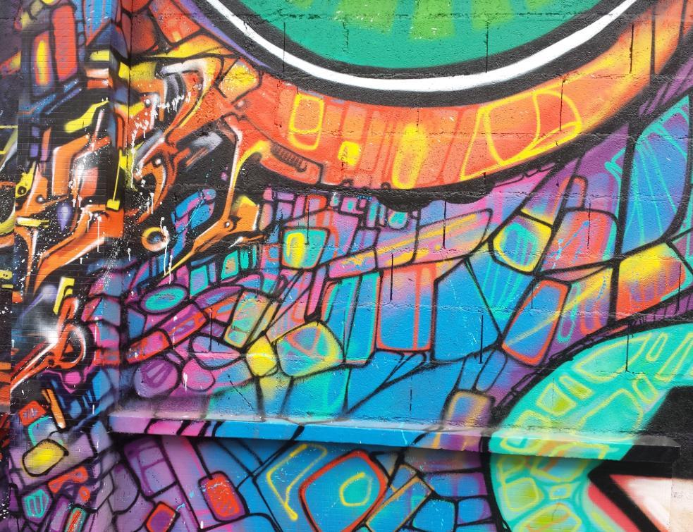 La plus grande fresque d'art urbain d'Europe réalisée à Paris