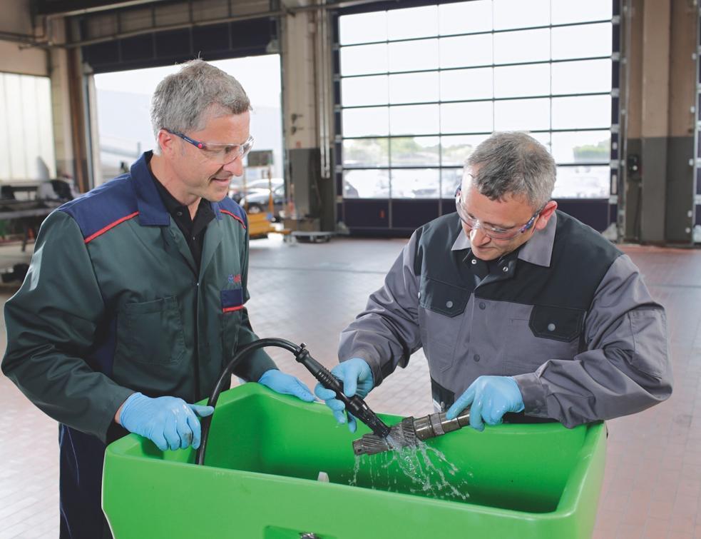 Mewa : le nettoyage industriel facile et respectueux de l'environnement