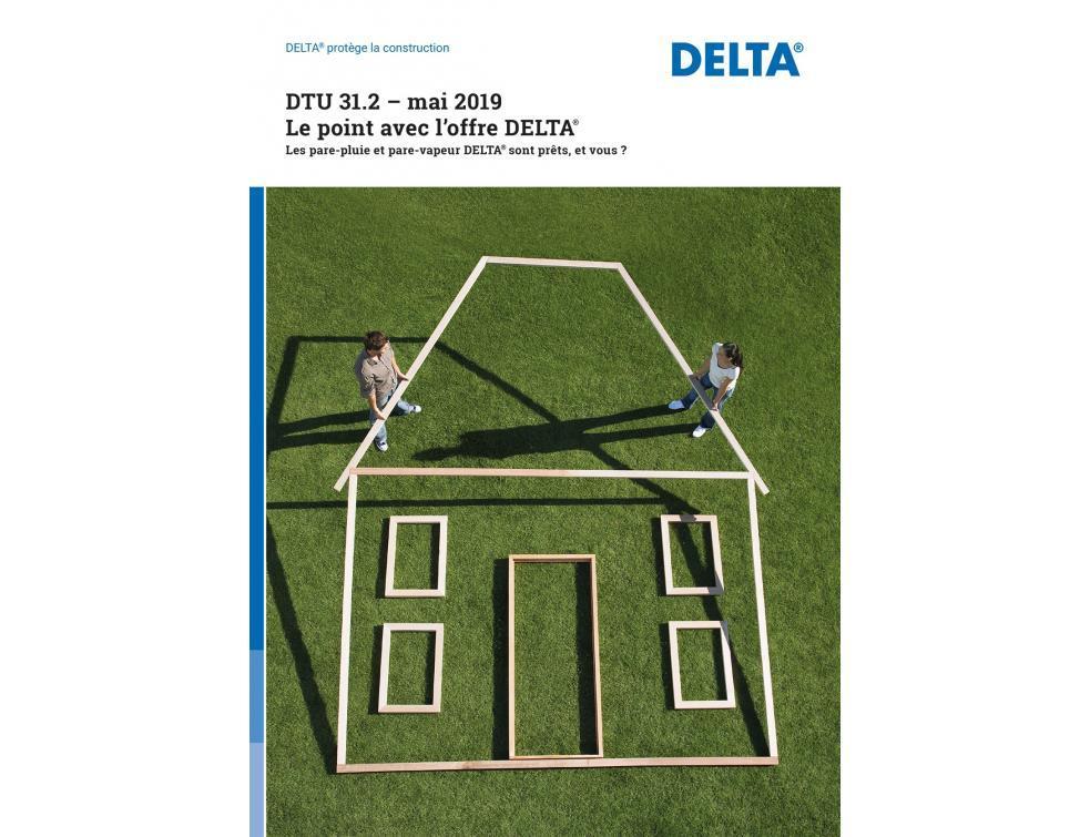 Nouveau DTU 31.2 : Une brochure pour prouver la conformité des membranes DELTA