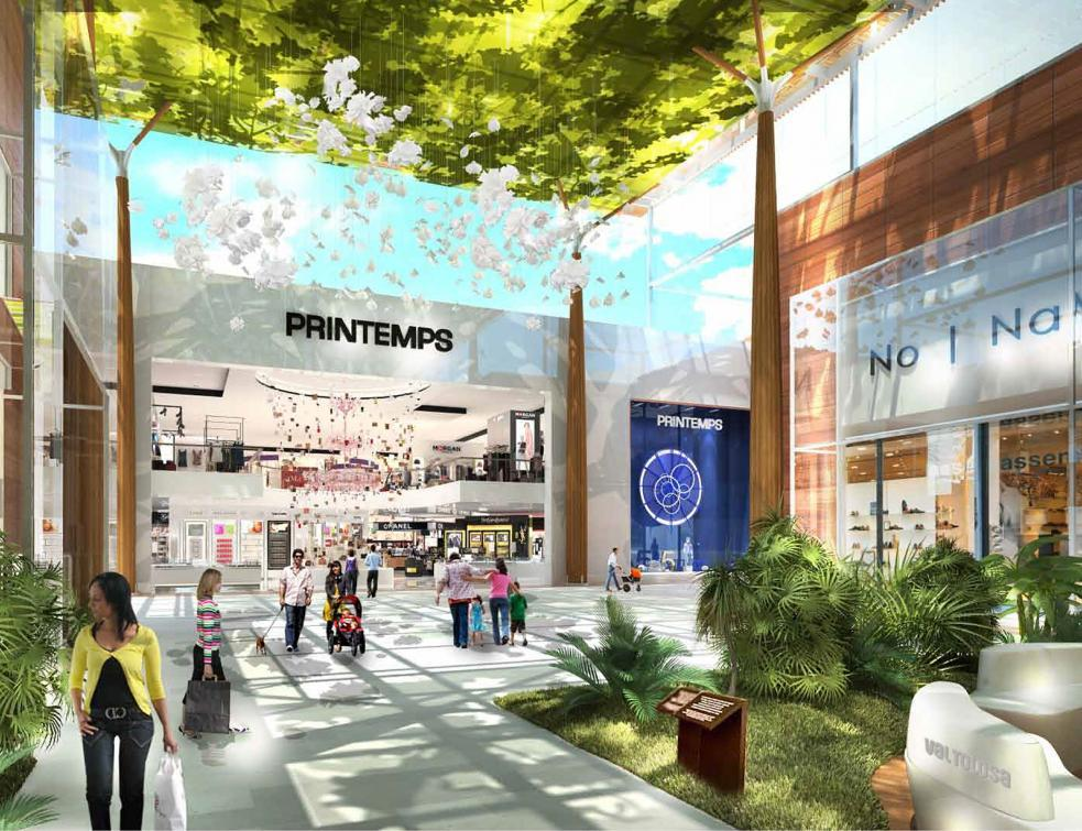 Toulouse: le projet de centre commercial