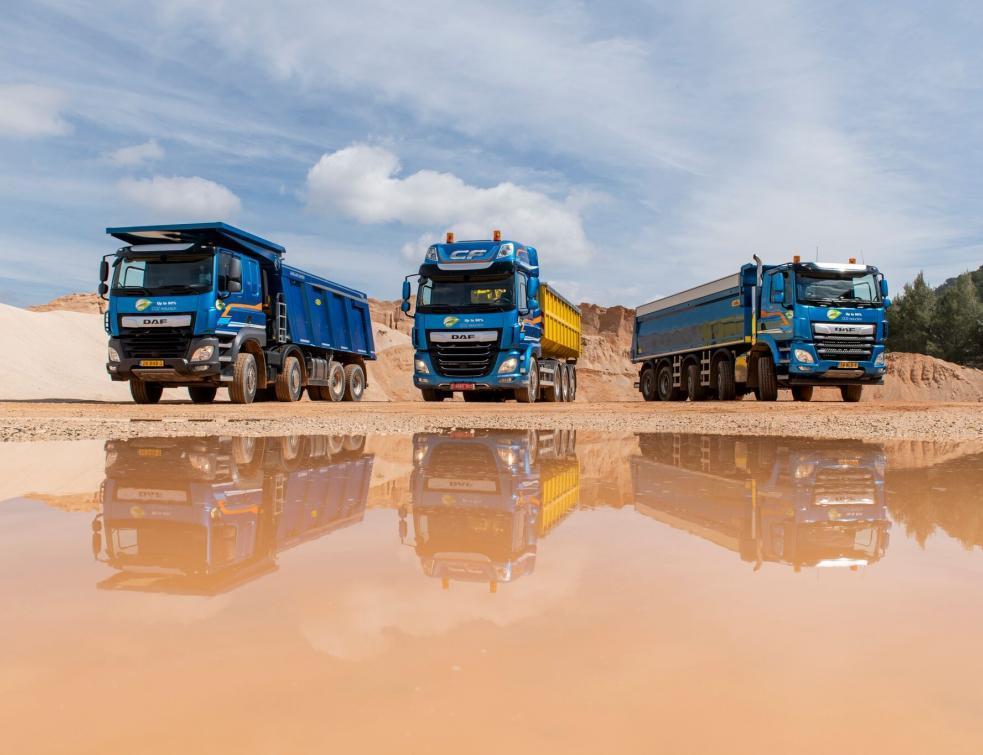 DAF pousse sa gamme de camions de chantier