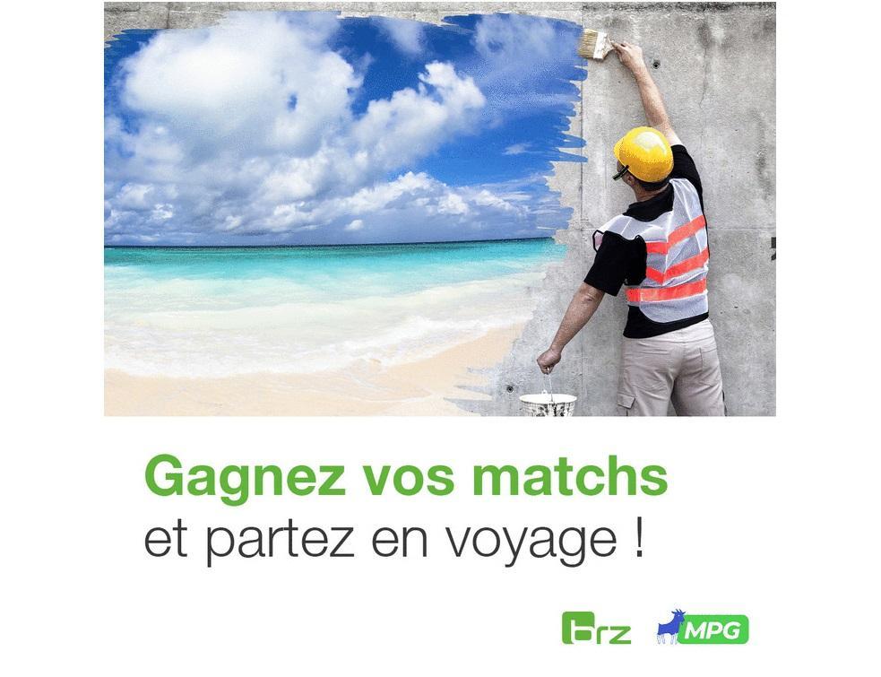 BRZ France lance le 1er  concours de fantasy foot MPG dédié aux professionnels du BTP