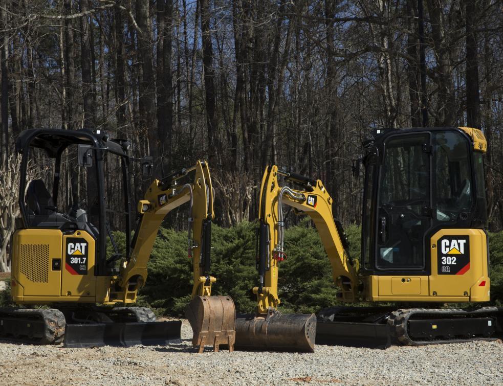 Cinq nouveaux modèles dans la gamme des minipelles hydrauliques Cat®