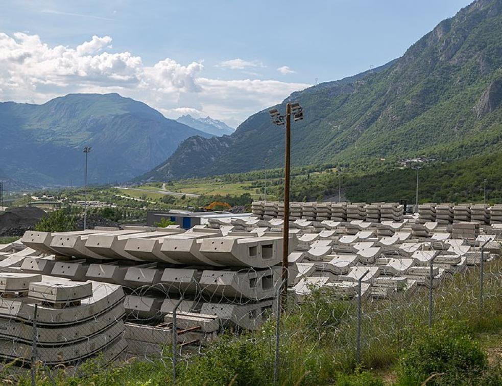 Les 9 premiers km du tunnel de base Lyon-Turin achevés