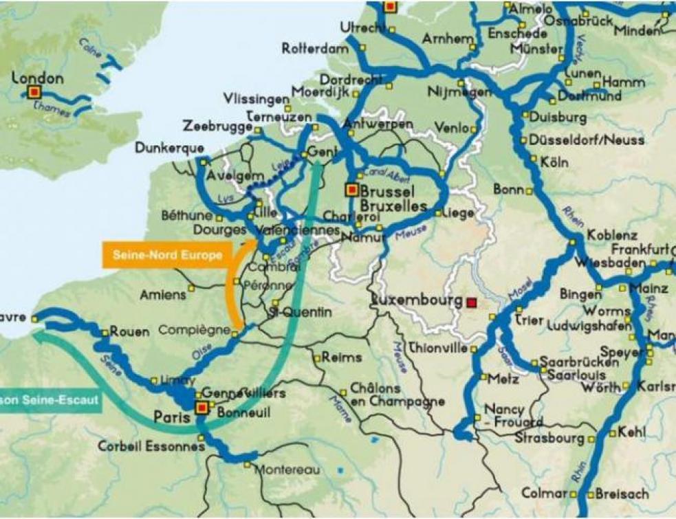Canal Seine-Nord: l'État sera au rendez-vous de ses engagements