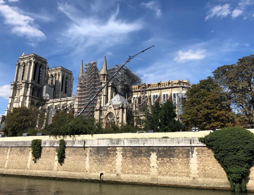 Les propos du général Georgelin envers l'architecte de Notre-Dame