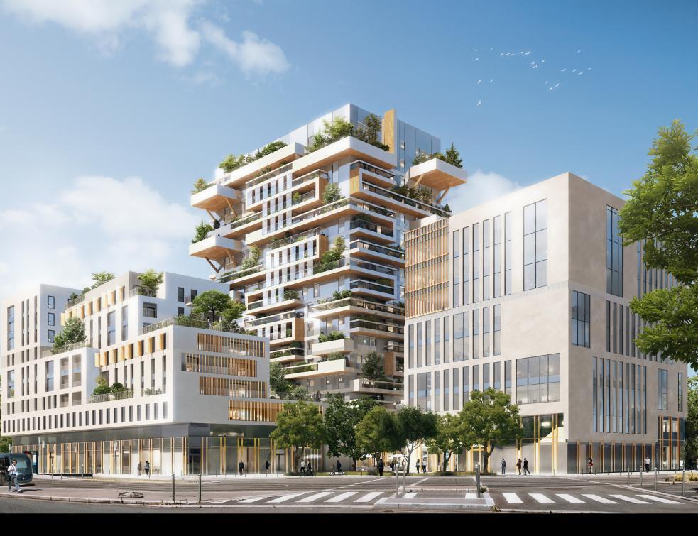 La Tour Hypérion précurseur de la construction bois à Bordeaux