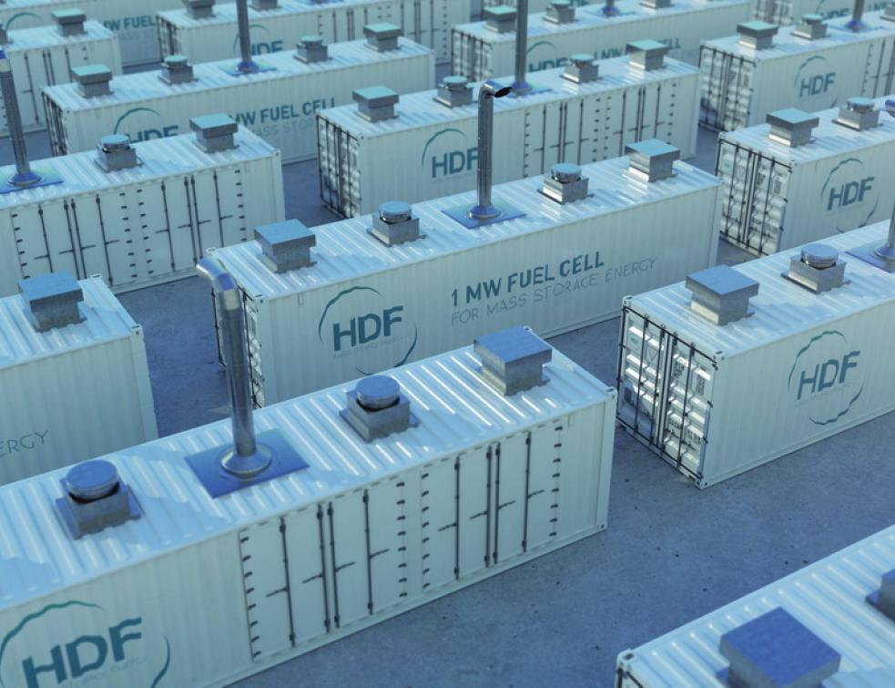 Hydrogène : HDF construit une usine de piles à combustible de fortes puissances