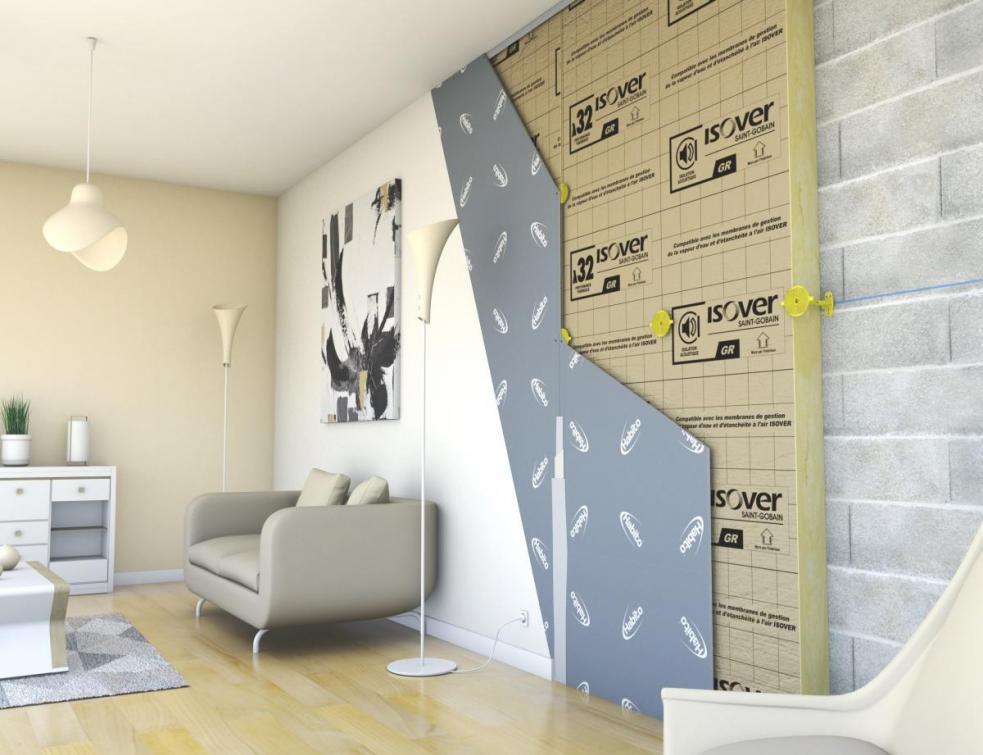 Placo® et ISOVER dévoilent le doublage des murs avec le système Optimax Habito®