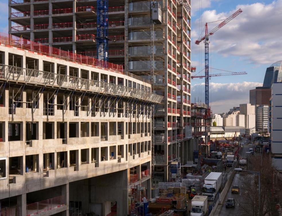 Un chantier sous contraintes pour le nouveau siège de Vinci