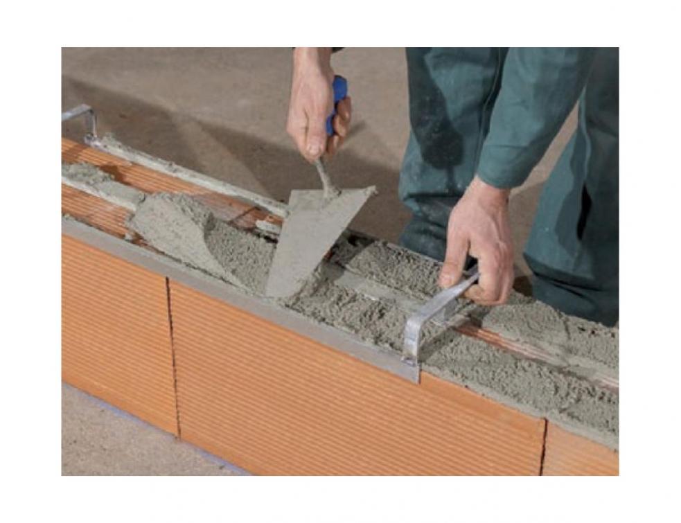 Briques terre cuite : implanter facilement des cloisons