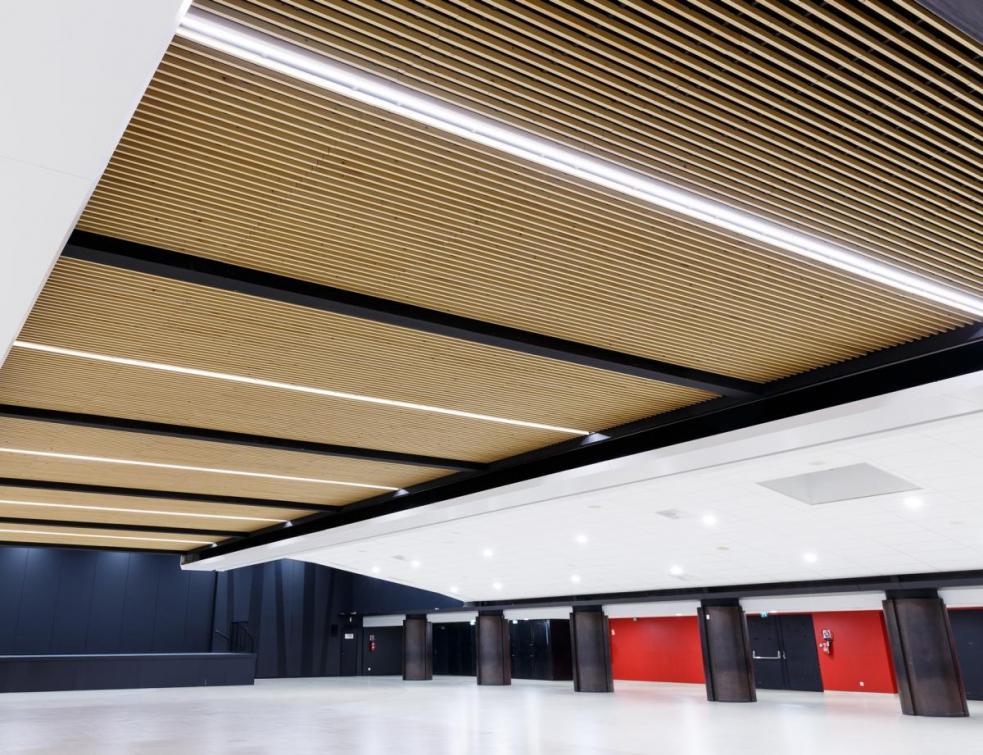 Les faux-plafonds en bois faciles à poser seuls
