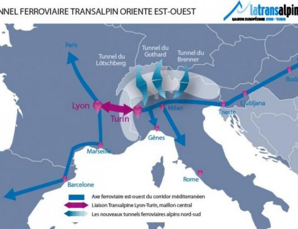 Progression du chantier du Lyon-Turin : les effectifs diminués de moitié