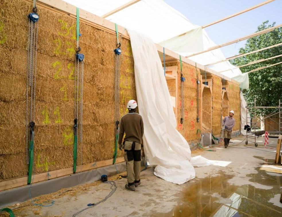 Le biosourcé, avenir de la construction durable selon Olivier Gaujard