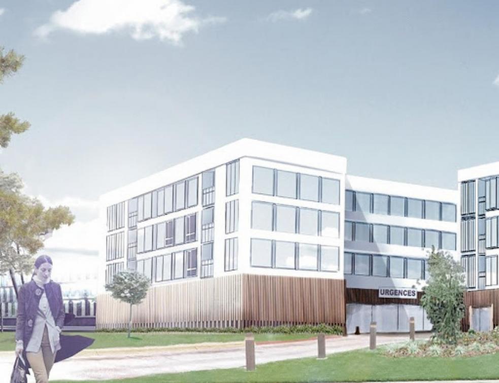 Eiffage remporte le contrat pour construire l'hôpital Paris-Saclay