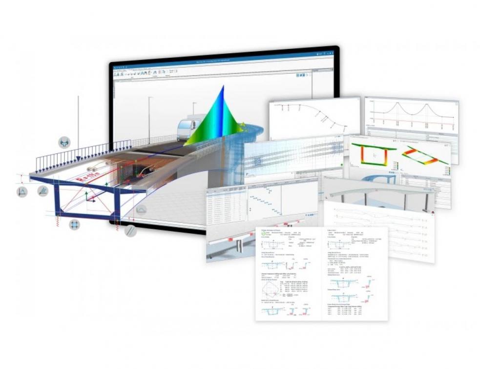 ALLPLAN sa solution BIM 4D entièrement intégrée pour les ponts