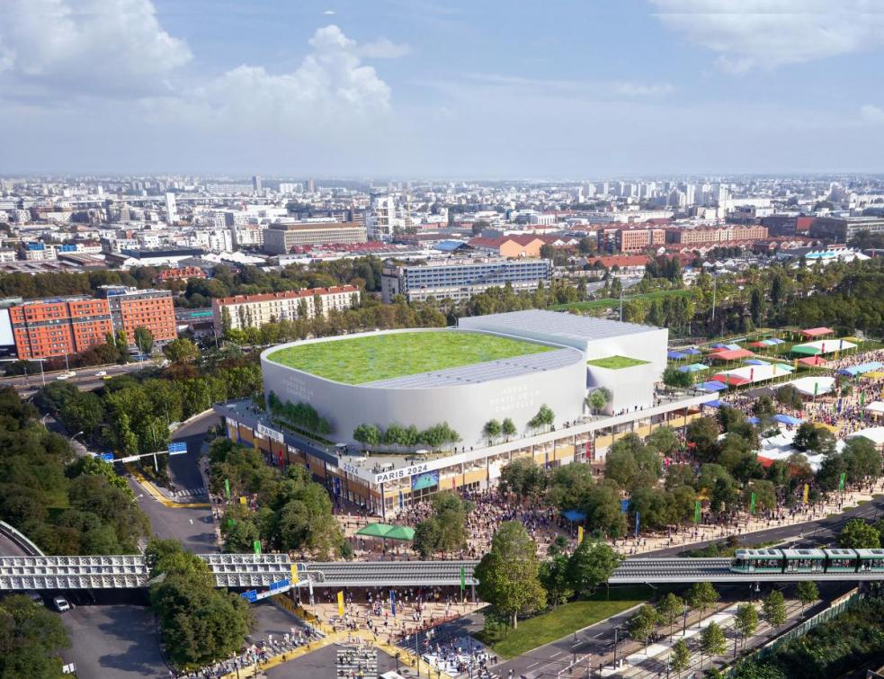 JO Paris-2024 : Bouygues remporte la construction de l'Arena 2 à Paris