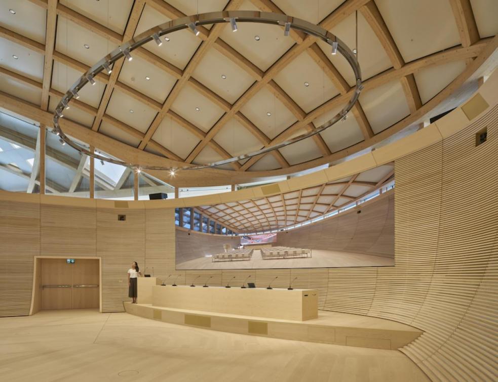 Les 5 nominés du 3e Prix International Architecture Bois