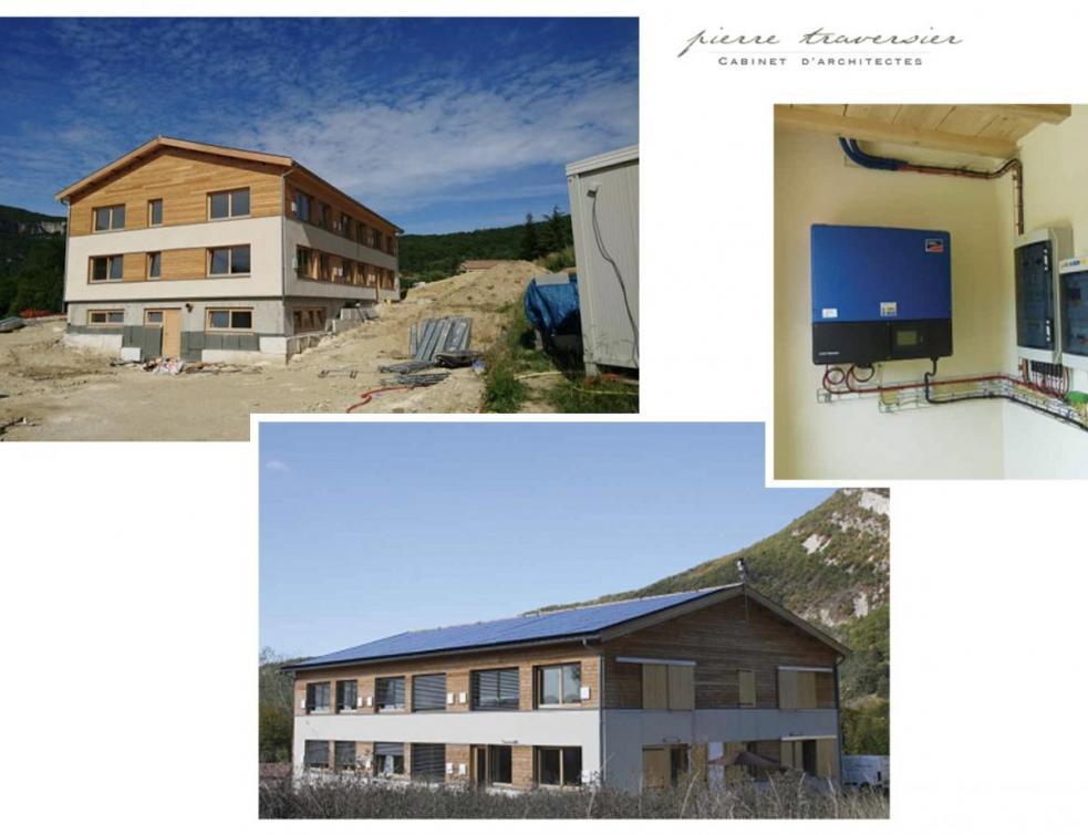 Immeuble de bureaux Lowcal : les atouts du bâtiment passif
