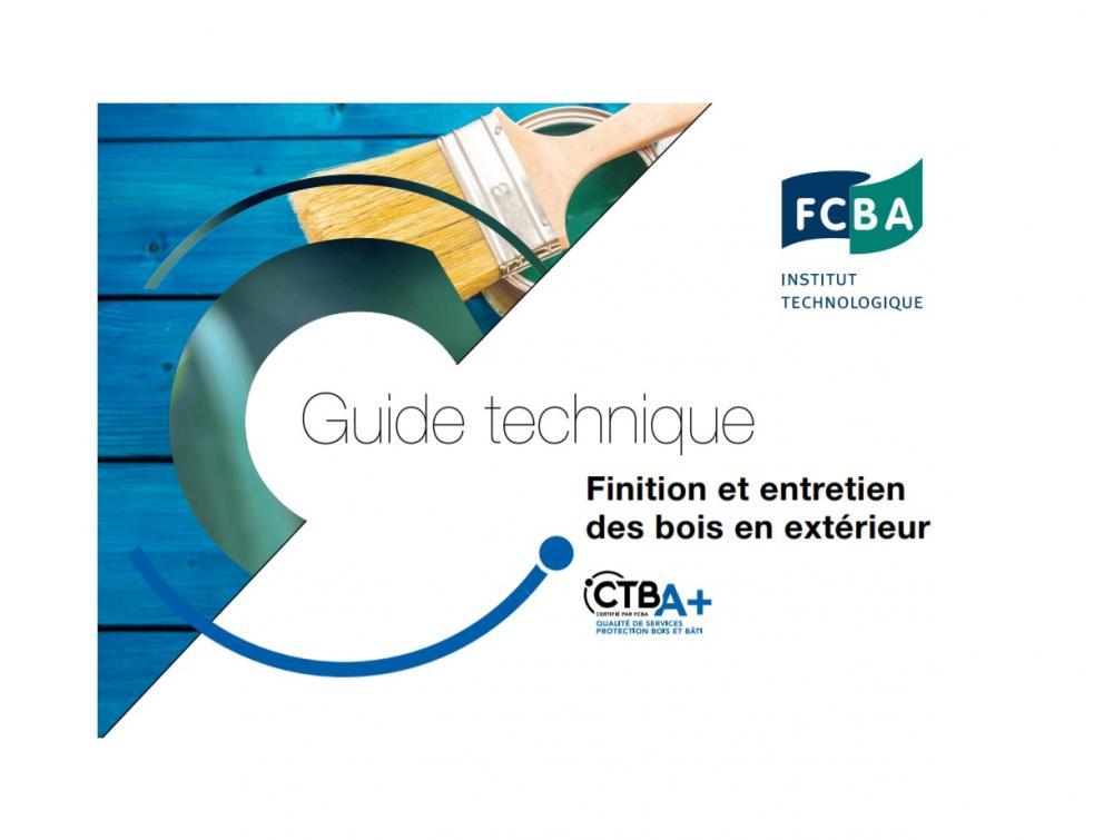 Guide technique FCBA « Finition et entretien des bois en extérieur »