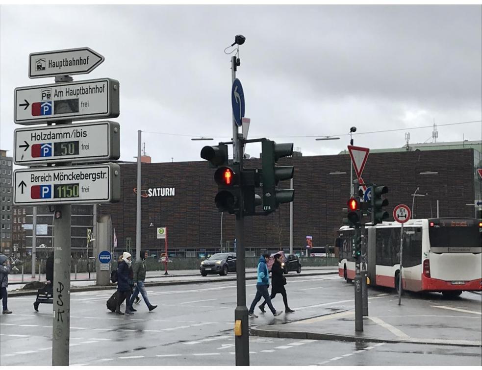 Les capteurs thermiques FLIR aident la ville d'Hambourg à fluidifier sa circulation