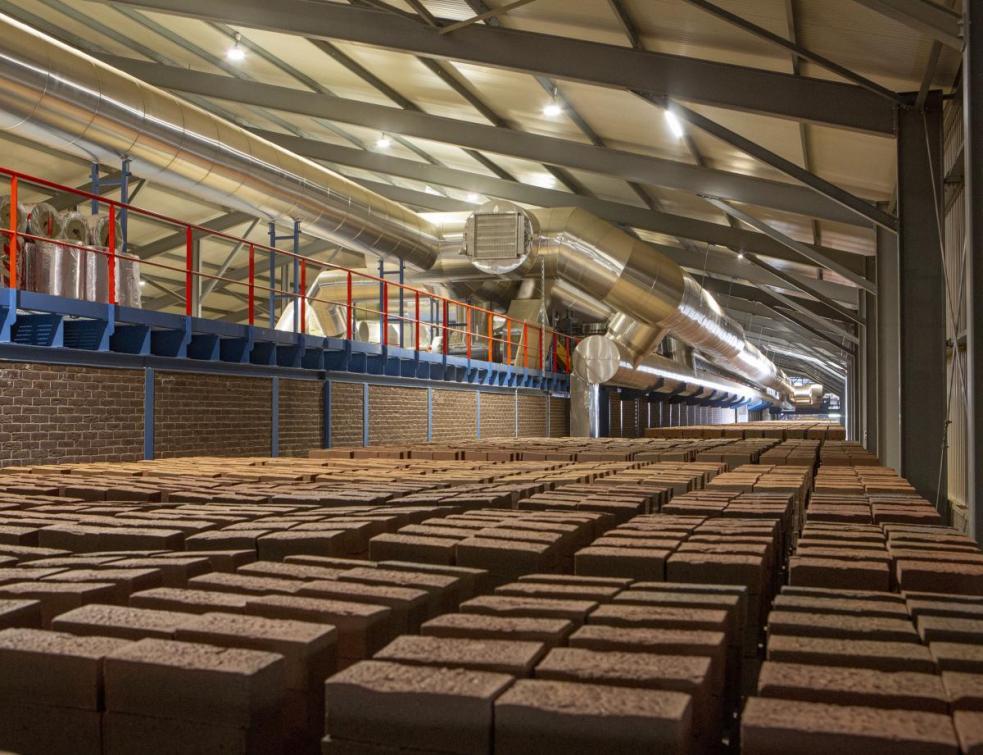 Vandersanden: son nouveau four à briques est un modèle d'économie d'énergie