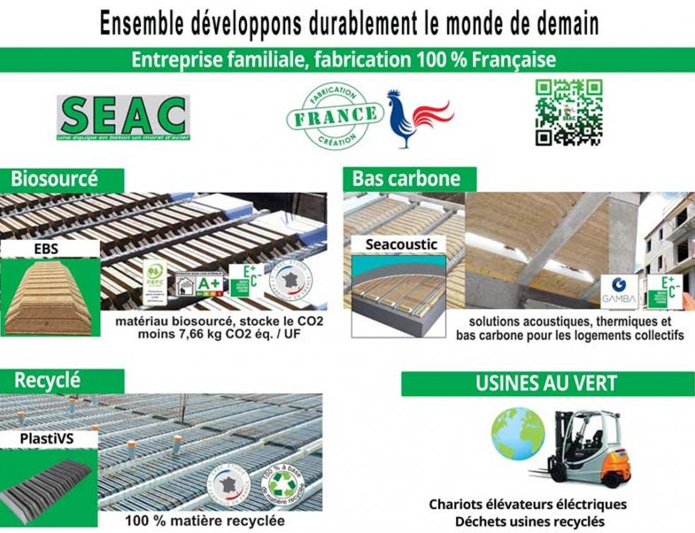 Seac et le développement durable