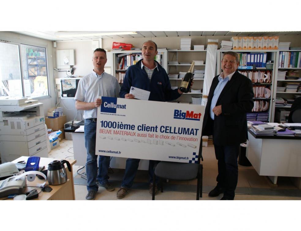 1000 clients pour Cellumat Le fabricant renforce ses positions commerciales