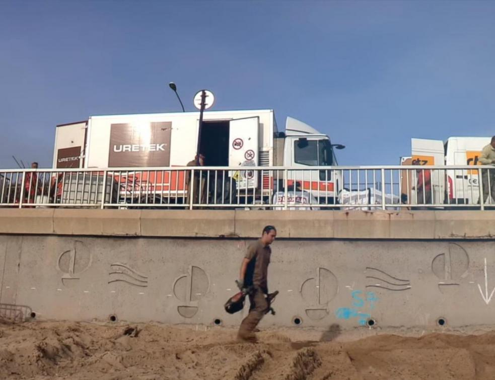 À Sainte-Maxime, un mur de soutènement secouru des eaux par URETEK