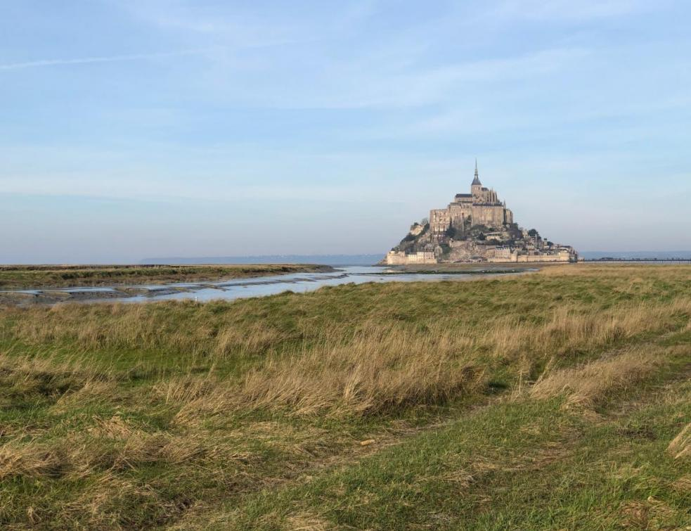 Un important chantier de restauration au Mont-Saint-Michel